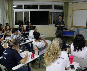 Aula do módulo 1 – Coaching para educadores – Colégio Maria Imaculada