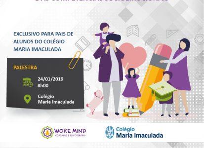 Coaching para pais de alunos no colégio Maria Imaculada