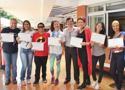 Entrega de certificados – Coaching para Educadores