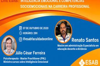 Live: Inteligência Emocional e Competências Socioemocionais na carreira profissional